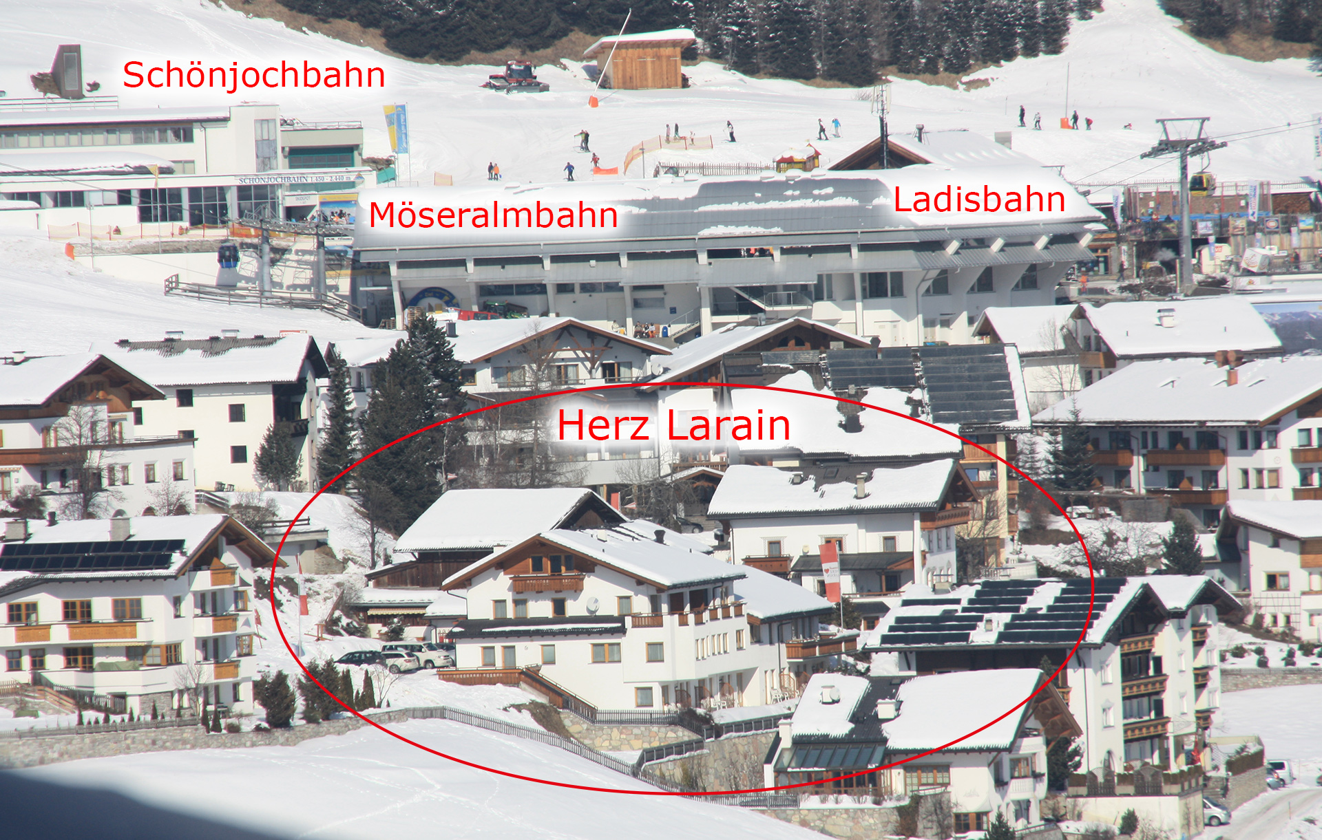 Lage | Herz Larain Fiss | Hotel Fiss | Serfaus Fiss Ladis ...